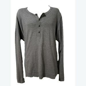 Theory Henley Long Sleeve Shirt - Men's
